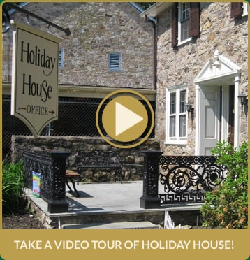 Take a video tour of Holiday House!