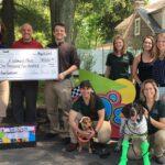 Holiday House Pet Resort Prom Fundraiser Check Presentation